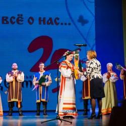"""Юбилейный концерт  театра фольклора """"Разноцветье"""" 18 мая 2016"""